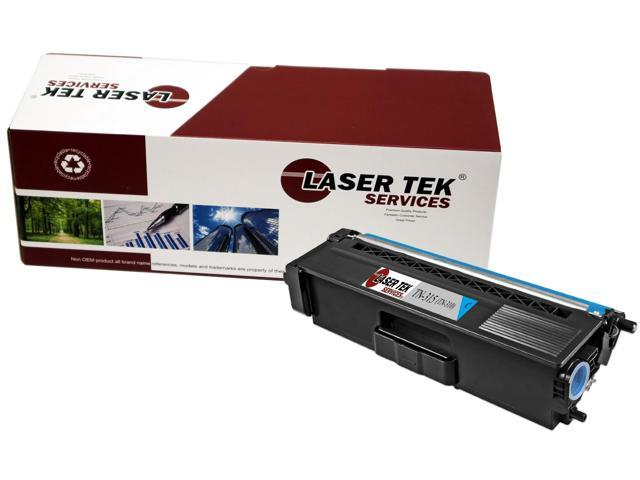 Laser Tek Services® Brother TN315 / TN310 (TN-315C) Cyan Compatible Replacement Toner Cartridge