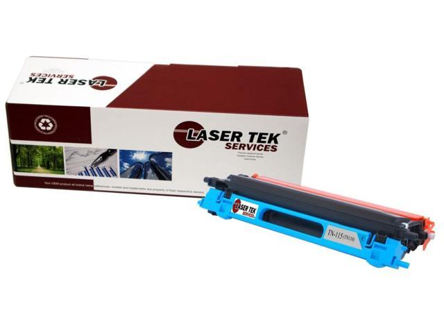 Laser Tek Services® Brother TN115 / TN110 (TN-115C) Cyan Compatible Replacement Toner Cartridge