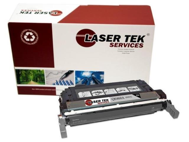 Laser Tek Services® Replacement HP Q6460A (644A) Black High Yield Toner Cartridge