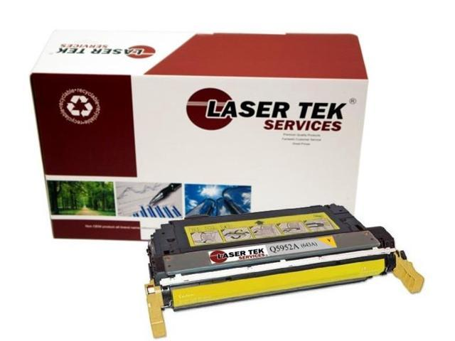 Laser Tek Services® Replacement HP Q5952A (643A) Yellow High Yield Toner Cartridge