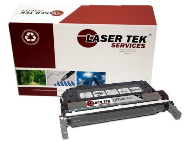 Laser Tek Services® Replacement HP Q5950A (643A) Black High Yield Toner Cartridge