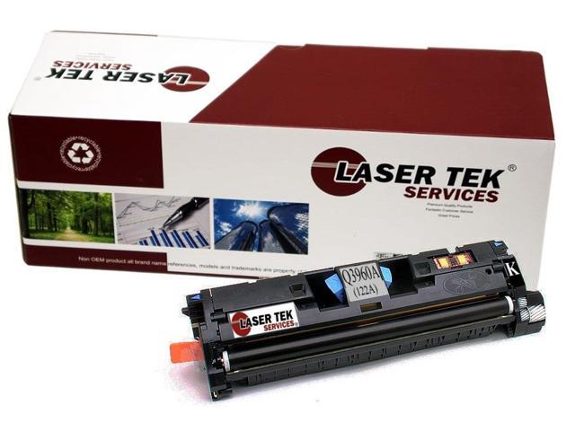 Laser Tek Services® Replacement HP Q3960A (122A) Black High Yield Toner Cartridge