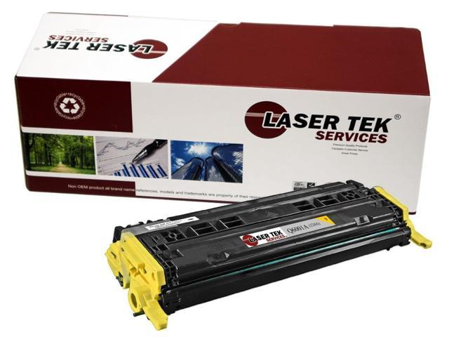 Laser Tek Services® Replacement HP Q6002A (124A) Yellow High Yield Toner Cartridge