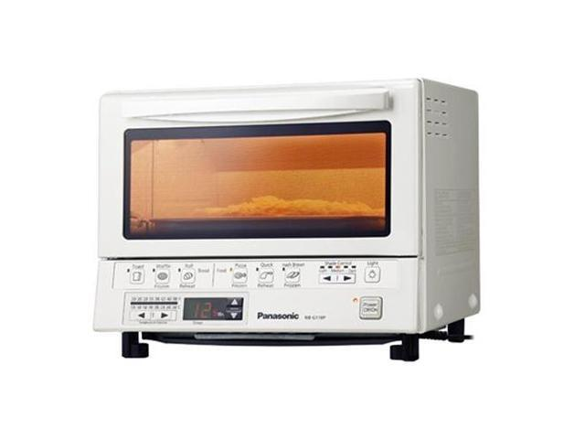 PANASONIC PAN-NB-G110PW Flash Xpress Toaster Oven in White / Temperature settings (250??F-500??F)