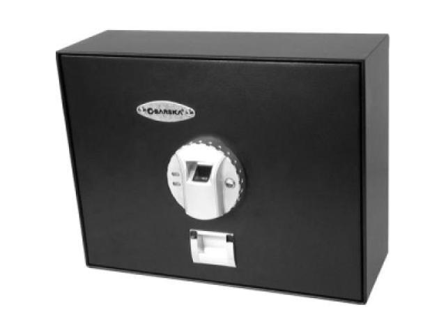 BARSKA AX11556 Top Opening Biometric Drawer Safe ...