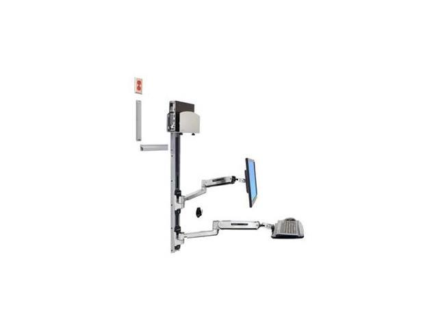 Ergotron 45 358 026 Lx Sit Stand Wall Mount System