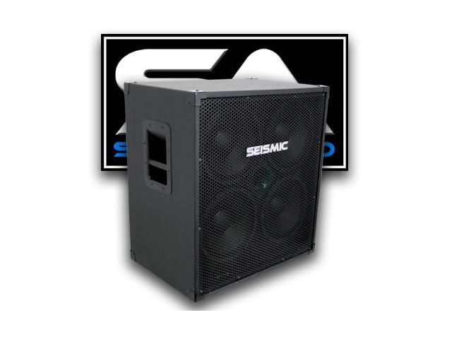 seismic audio 4x10 bass guitar speaker cabinet four 10 inch speakers. Black Bedroom Furniture Sets. Home Design Ideas