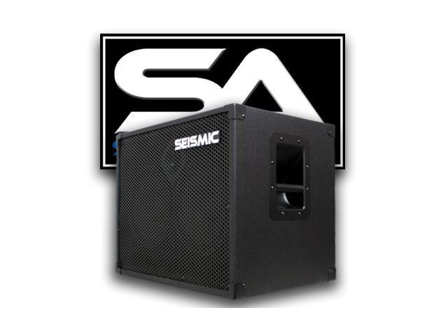 Seismic Audio - 2x10 Bass Guitar Speaker Cabinet Band - Two 12