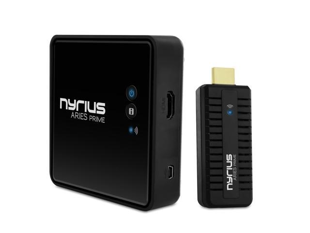 Nyrius Aries NPCS549 Prime Wireless HDMI Transmitter & Receiver for HD 1080p 3D Video Streaming