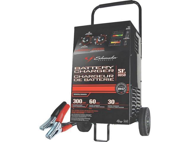 Manual Battery Charger, 1 - 2 hr Schumacher Battery Chargers SF-8050