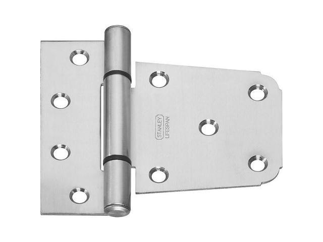Stanley Hardware 808659 3.5-Inch V289 Heavy Duty Gate Hinge, Stainless Steel