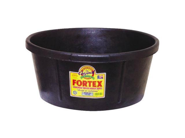 6-1/2 Gal Round Utility Tub Fortiflex Feeders and Waterers CR650 012891135013