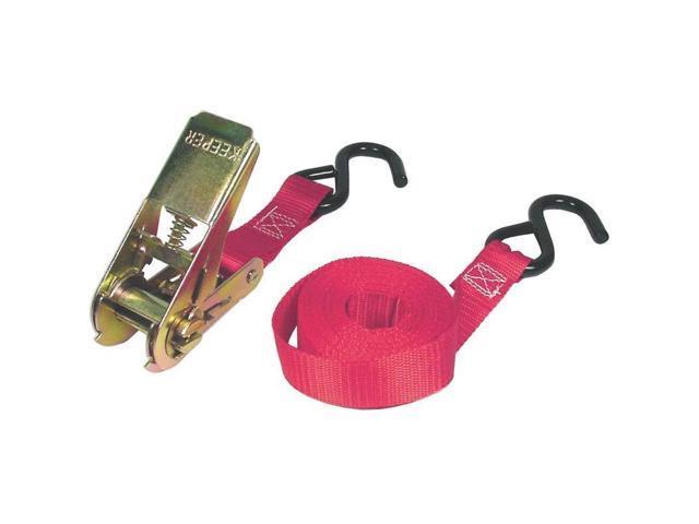 Ratchet Tie Down, 300 Lb, 10' L X 1