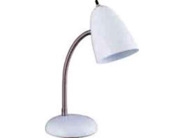 Boston Harbor TL-TB-170-WH3L White Flexible Table Lamp Flexible/Adjustable - Eac