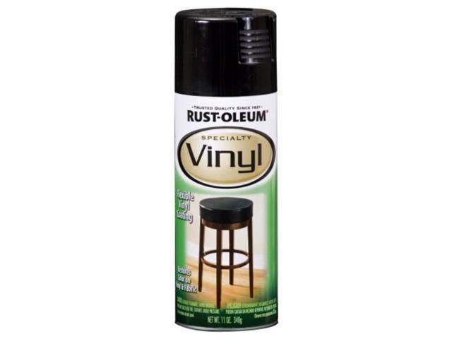vinyl spray 11 ounce black rust oleum spray paint 1909830 array. Black Bedroom Furniture Sets. Home Design Ideas