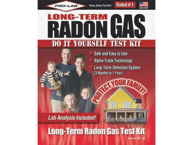 Radon gas test kit rl116 - The office radon test kit ...