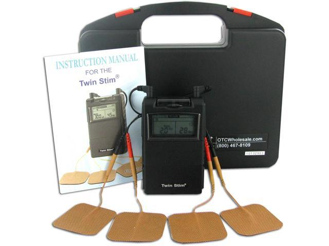 Twin Stim Combo Dual Channel TENS Unit and Muscle Stimulator Unit