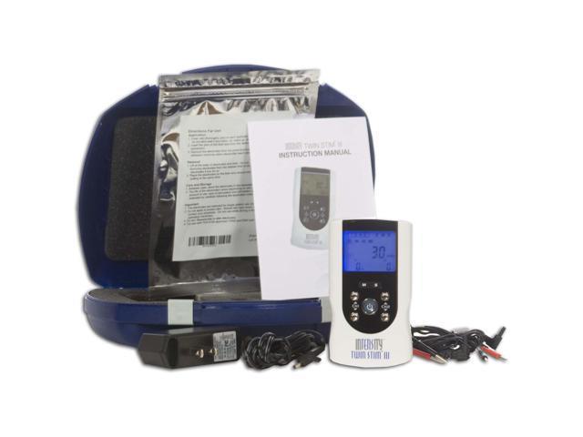 InTENSity Twin Stim III Combo Dual Channel TENS Unit and Muscle Stimulator Unit