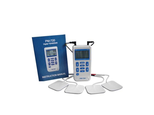 TENS & Electro Muscle Stimulation Combination Unit - ProM-720 - 9 Mode