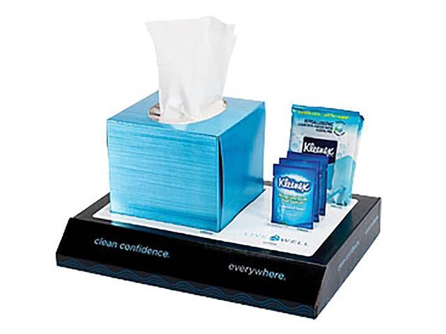 Live Well Desk Caddy Tissue Sanitizer Pack