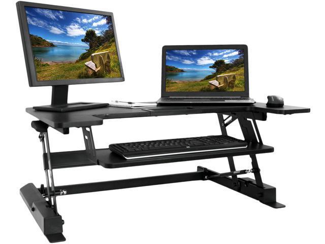 Vivo Height Adjustable Standing Desk Monitor Riser Gas