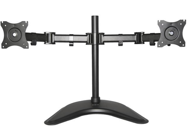 vivo dual monitor mount fully adjustable desk stand for 2 lcd screens up to 27