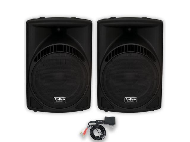 Podium Pro 1 Pair of New 1800 Watts Band DJ PA Karaoke Active Powered 15