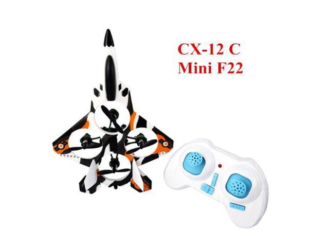 Cheerson CX-12 CX12 Mini Fighter 2.4G 4CH 6 Axis LED RC Quadcopter Mode 2 Left Hand Throttle 3D Tumbling With Transmitter