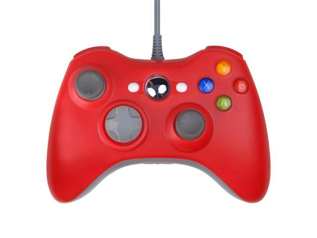 Wired USB Game Pad Controller for Microsoft Xbox 360 Slim Windows 7 Red - Newegg.ca - 웹