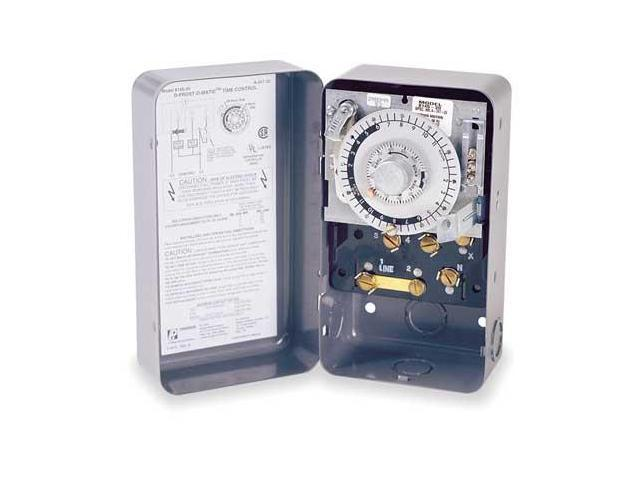 Paragon 8141-00 Timer Defrost 120v 1 No 2nc Switches