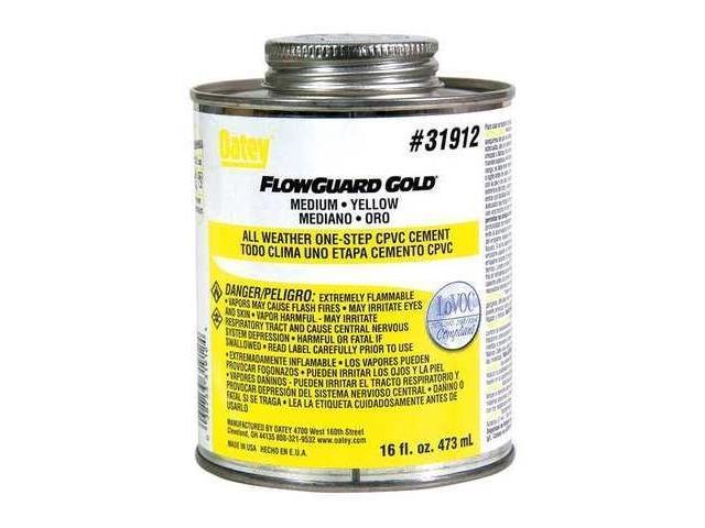 Oatey flowguard gold cpvc cement oz low voc