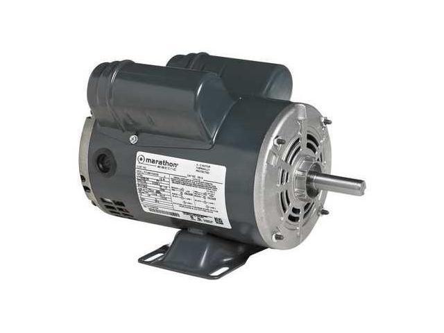 Marathon Motors 184tbdw7026 Air Compressor Motor 5 Hp 23