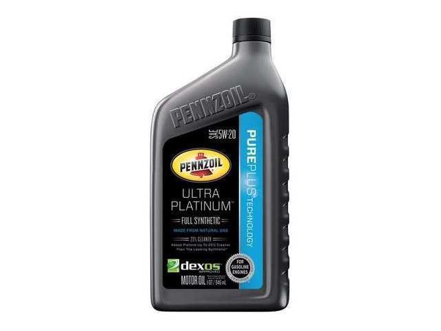 Pennzoil 550040863 Motor Oil Ultra Platinum 1 Qt 5w 20