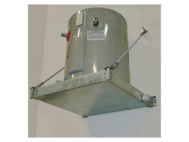 50 Swhp W Water Heater Platform Wall Mount 50 Gal