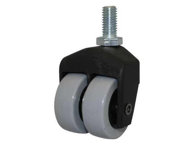 Dual Wheel Swivel Caster,150 lb,2 In,205-2XPU-85