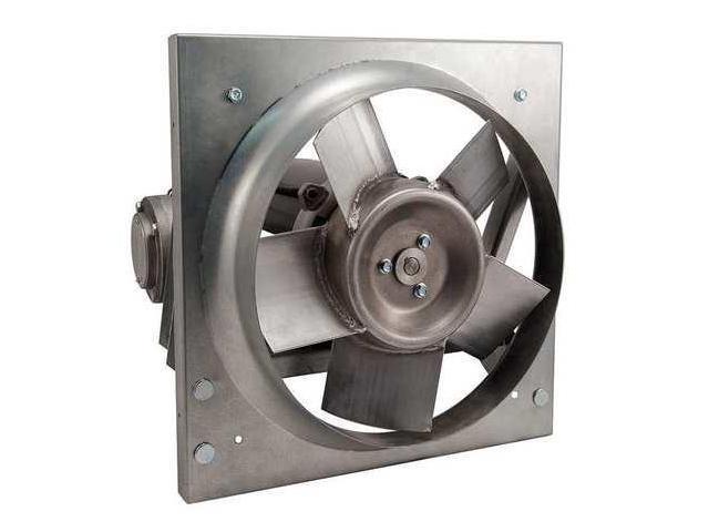 Direct Drive Exhaust Fan : Direct drive hazardous location panel exhaust fan dayton