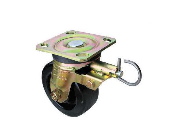 Swivel Plate Caster w/4-Position Directional Lock,1000lb, 930TM05201SLG
