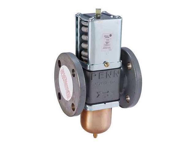 2 way water regulating valve johnson controls v46as 2c. Black Bedroom Furniture Sets. Home Design Ideas