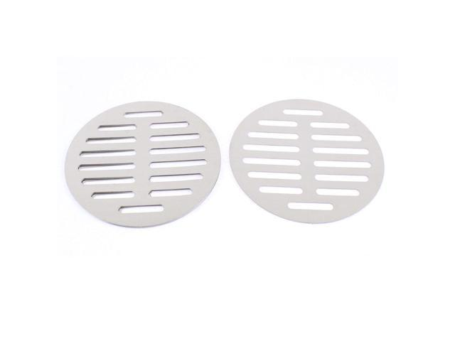 Unique Bargains Stainless Steel Kitchen Bathroom Round Floor Drain Cover 5