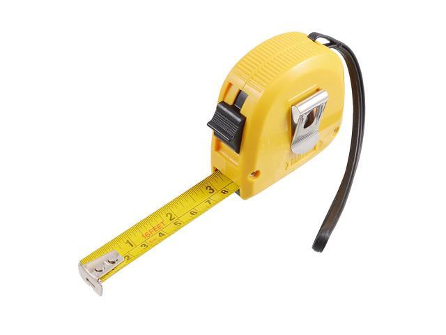 Unique Bargains Unique Bargains 16-Foot Retractable Inch/Metric Steel Tape Measure w Hand Strap