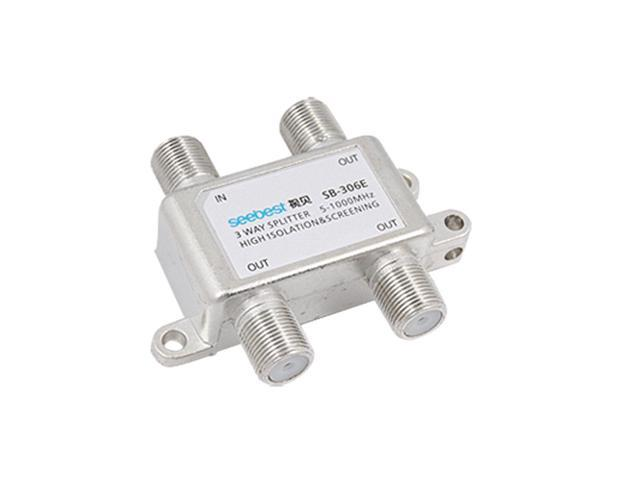 3 Way Coaxial Cable Connector CATV Directional Splitter Drvac ...