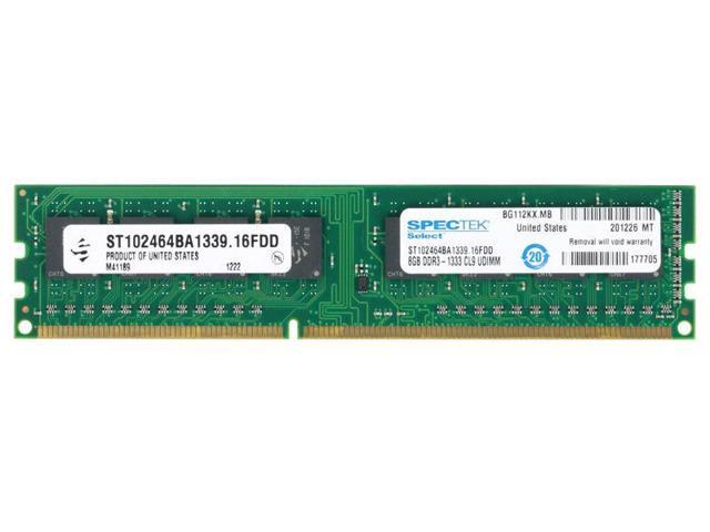 Spectek ST102464BA1339 8GB 240-pin DDR3-1333 Desktop Memory RAM