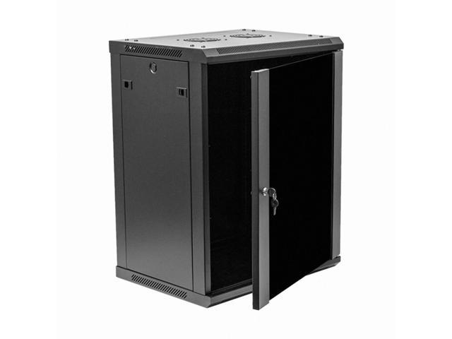 Navepoint 15u wallmount networking cabinet 450mm depth for Kitchen cabinets 450mm depth