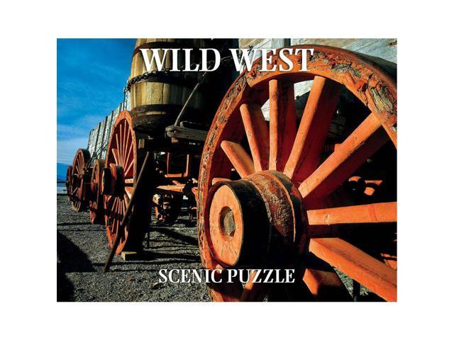 Wild West Scenic 300 Piece Puzzle by Creative Arts Publishing