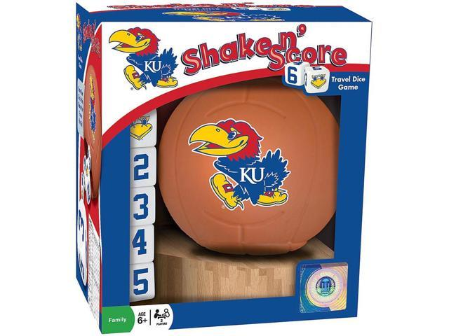 University of Kansas Shake n Score Dice Game by Masterpieces Puzzle Co.