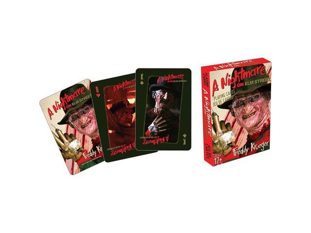 Playing Card - Nightmare on Elm Street - Freddy New Licensed 52320