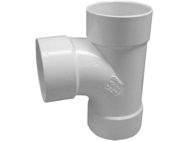 3In PVC S and Drain Sanitary Tee GENOVA PRODUCTS INC Pvc-S&D Tees & Wyes 41130