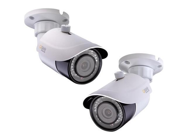 Q-see QTN8086B 8 Megapixel Network Camera - 2 Pack - Color