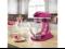 KitchenAid KSM155GBRI Artisan Design Series 5-Quart Tilt-Head Stand Mixer with Glass Bowl Raspberry Ice