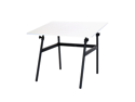 Offex Berkeley Classic Drawing orDrafting or Crafting Table Furniture Black Base with White 30 x 42 C Top